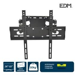 SUPORTE PLASMA / LCD / LED 26-55 POLEGADAS 50KG MAX VESA 400X400MM