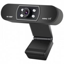 WEBCAM ASHU H800 Full HD 1080p COM MICROFONE