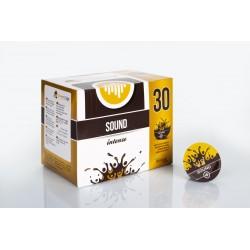 CAIXA DE 30 PASTILHAS CROWD COFFEE SOUND INTENSO 100% ITALIANO
