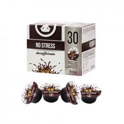 CAIXA DE 30 PASTILHAS CROWD COFFEE NO STRESS DESCAFEINADO 100% ITALIANO