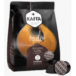 CAIXA DE 20 PASTILHAS DE CAFÉ KAFFA FADO INTENSIDADE 10