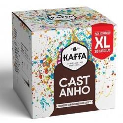 CAIXA DE 30 CÁPSULAS DE CAFÉ KAFFA CASTANHO DOLCE GUSTO INTENSIDADE 10 XL
