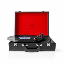 Gira-Discos Nedis 18W Bluetooth 33 / 45 / 78 Rpm Conversor MP3