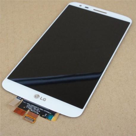 Módulo completo (touch + LCD) LG G2 D802 Original e Novo Branco
