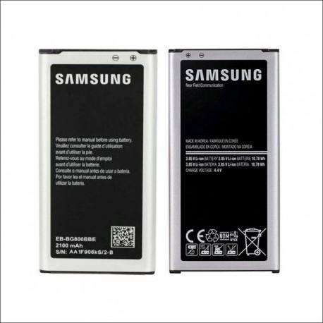 Bateria Samsung ORIGINAL Galaxy S5 Mini EB-BG800BBE - SM-G800 com NFC