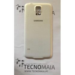 Tampa de Bateria Samsung S5 G900F branca