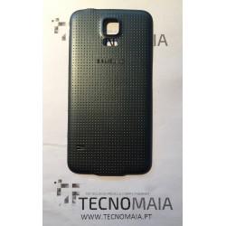 Tampa de Bateria Samsung S5 G900F preta
