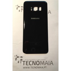 Tampa de Bateria Samsung S8 G950F Nova preta acabamento brilhante