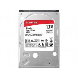 Disco Rígido Toshiba 1TB 2,5´ 5400RPM 128MB Buffer PC L200